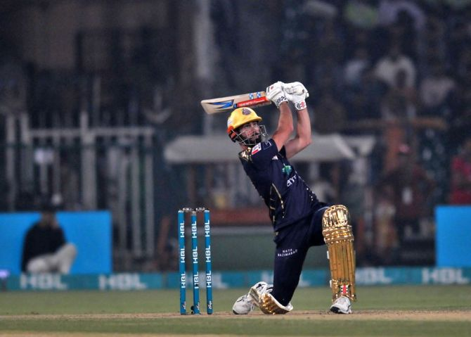 Ben Cutting admitted that he is impressed with some of the shots Azam Khan has played Quetta Gladiators Pakistan Super League PSL cricket