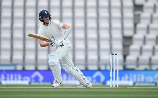 Zak Crawley 76 England West Indies 1st Test Day 4 Southampton cricket