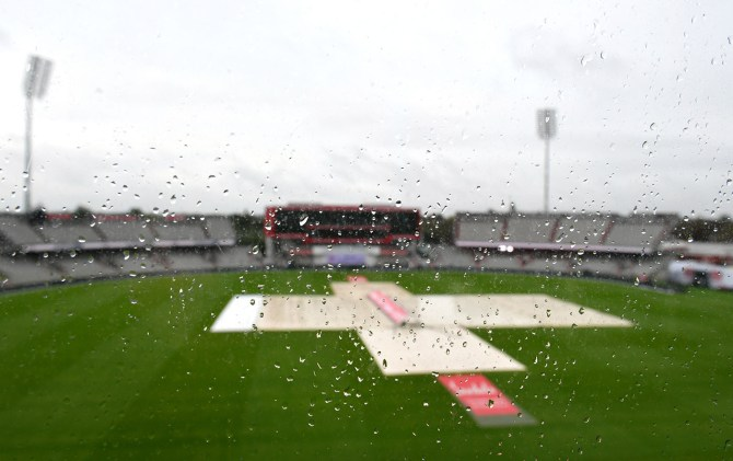 Persistent rain washes out entire day England West Indies 3rd Test Day 4 Manchester cricket