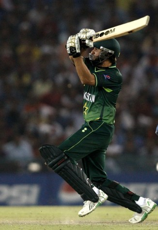 Faisal Iqbal praises Shahid Afridi for his six out the ground saying one heck of a shot