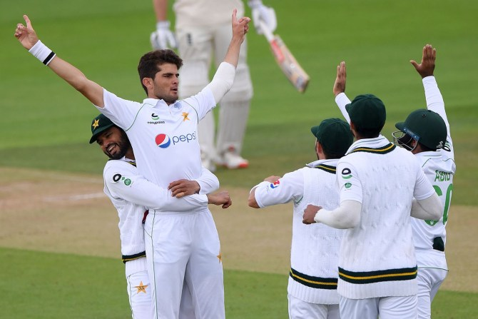 Shaheen Shah Afridi rates his performance during Pakistan's tour of England