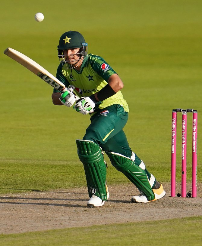 Haider Ali prefers Babar Azam's batting style to that of AB de Villiers