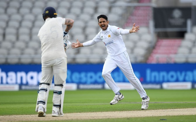 Pakistan pace bowler Mohammad Abbas said he is going to return with great rhythm and form