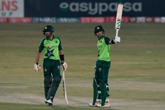 Babar Azam said Haider Ali can be outstanding but needs to stop hurrying and play sensibly when batting