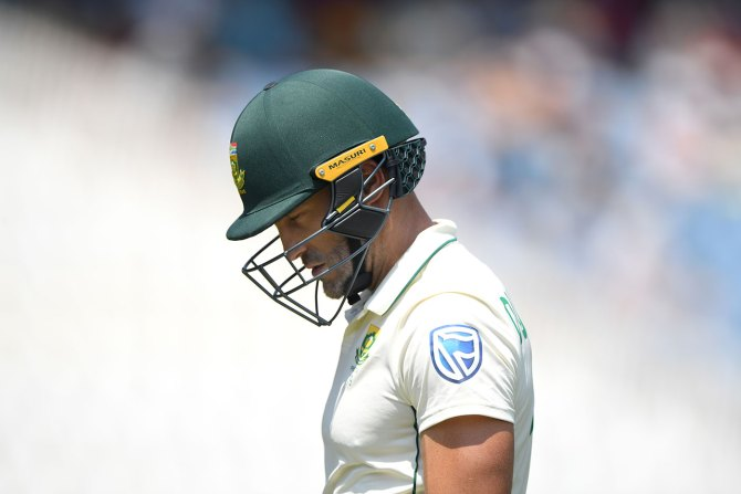 Faf du Plessis said Saeed Ajmal was a nightmare to face