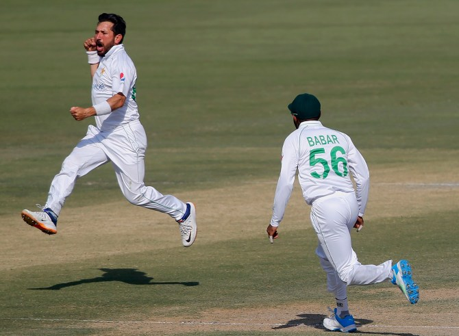 Mohammad Wasim said he sees Yasir Shah playing for Pakistan for another three years at least