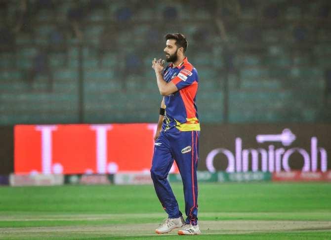 Imad Wasim said Arshad Iqbal is bowling well