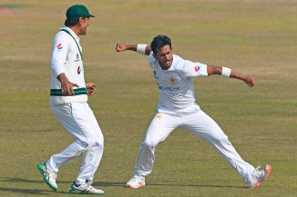 Hasan Ali said he really looks up to Dale Steyn