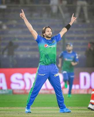Shahid Afridi joked luckily Chris Gayle is not in the PSL anymore