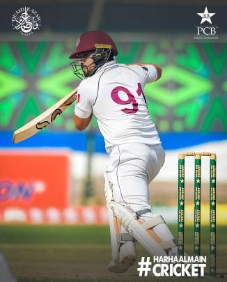 Pakistan batsman Zain Abbas said he is always hungry for runs