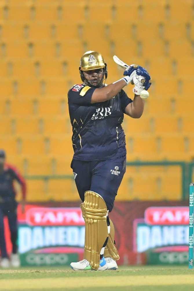 Pakistan wicketkeeper-batsman Azam Khan said he can't say he is the best