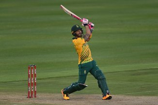 Faf du Plessis said you don't need a six-pack to be successful when talking about Azam Khan