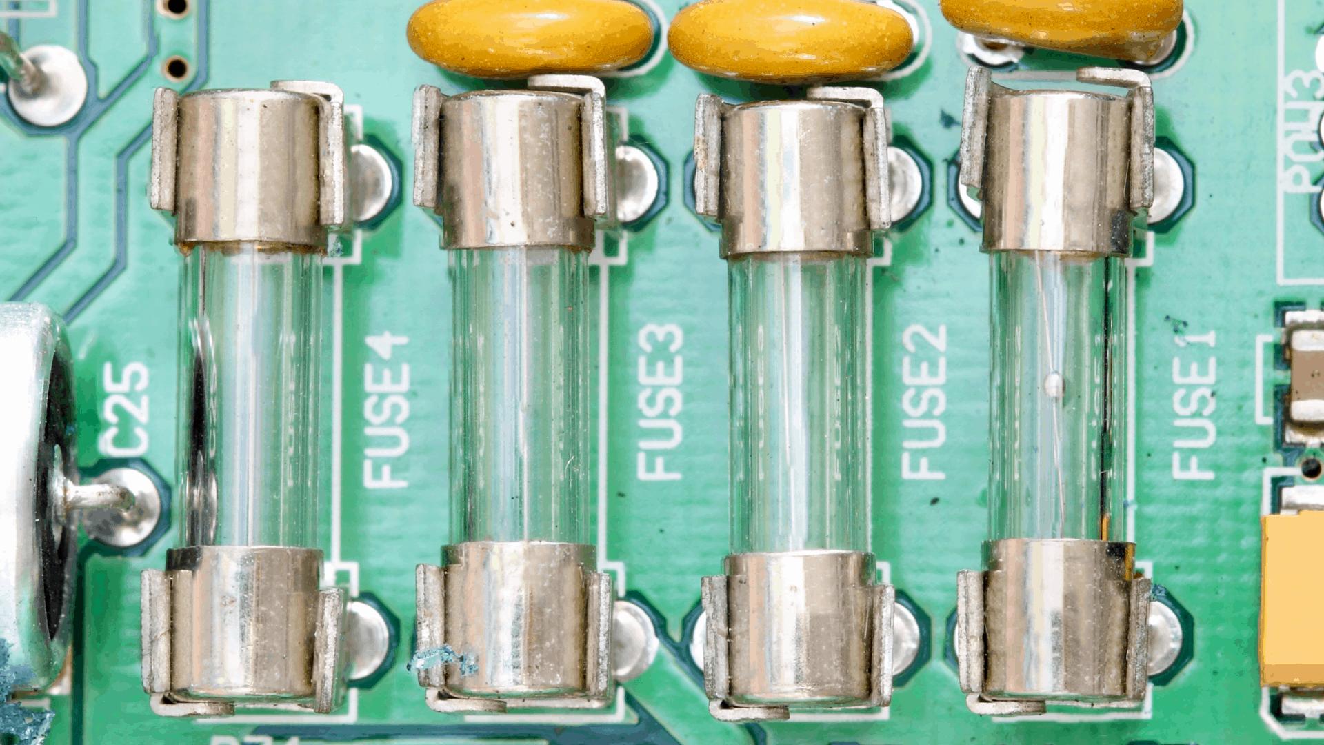 circuit board electric fuse