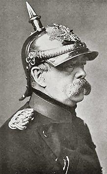 Otto von Bismarck.