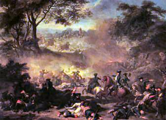 The Battle of Lesnaya