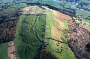 Cefn Carnedd Hill Fort (Royal Commission on the Ancient and Historical Monuments of Wales)
