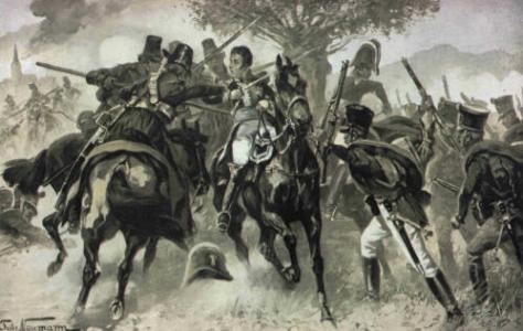 The capture of General Vandamme