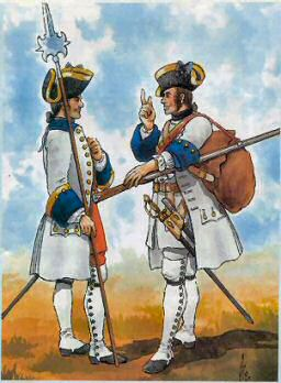 French Infantry 1747