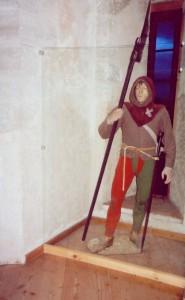 Swiss halberdier, Burgundian Wars. Grandson Museum