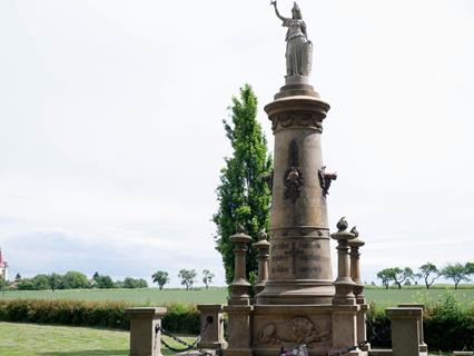 Monument at Chlum