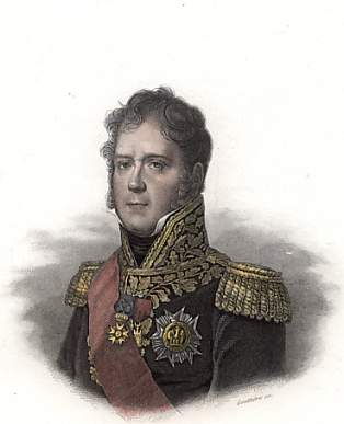 The brave but impetuous Marshal Ney.