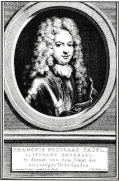 Francois Nicolaas Fagel (1645-1718). Dutch Lieutennant General and commander of infantry at Malplaquet.