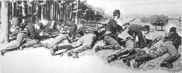 Union Cavalry at Gettysburg, July 1st 1863(Civil War Times Illustrated)