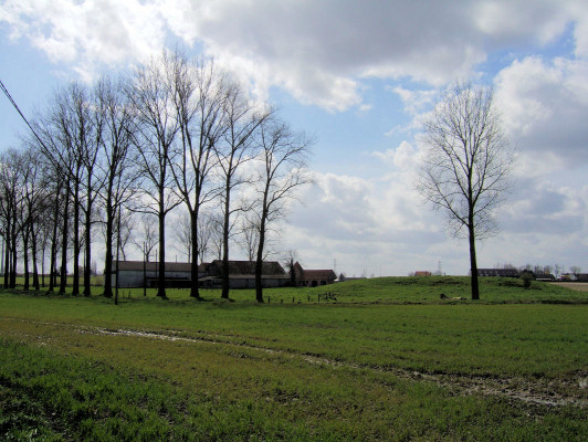 (C) Site of the Château of Brouwaan
