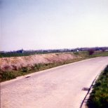 Fleurus: The sunken road between Fleurus and Tongrinnes