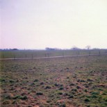 The ground from the position of Exalmans cavalry corps, looking towards the village of Boignée. The ground was quite wet here, even though it had not rained for more than a week before our visit.