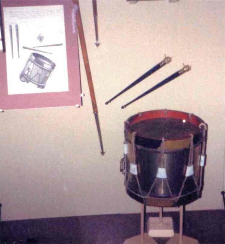 Austrian infantry side drum.
