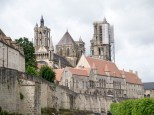 Laon Cathedral and Ramparts