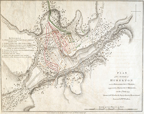 Battle of Hubbardton 7 July 1777