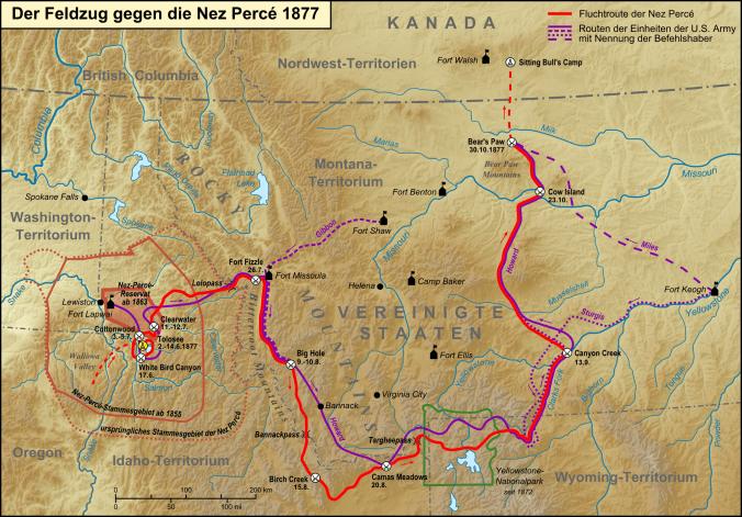 Feldzug_gegen_die_Nez_Perce_1877