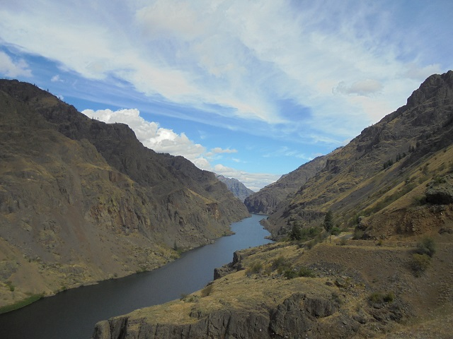Hells Canyon Looking North from Idaho Side