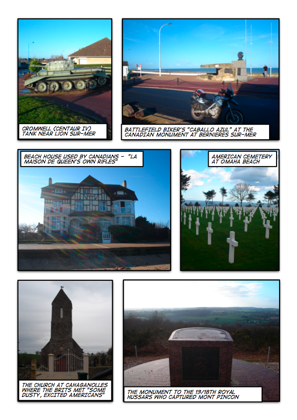 Battle of Normandy Collage