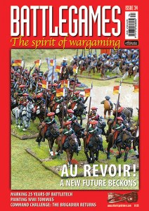 Battlegames issue 34 front cover