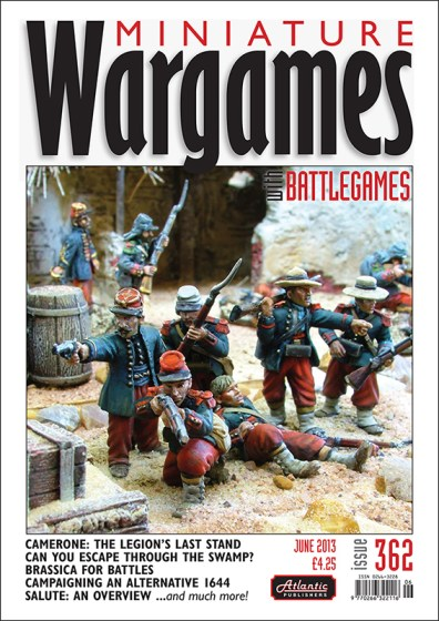 Miniature Wargames with Battlegames issue 362