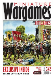 Miniature Wargames with Battlegames issue 372 front cover