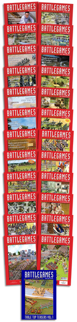 Battlegames issues 1-26 and Table Top Teasers