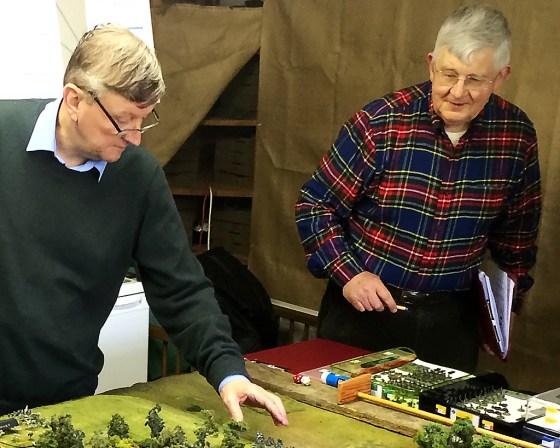 Andrew Brentnall (left) and John 'DZ' Drewienkiewicz