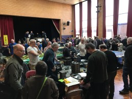 The Medway Hall with games and bring & buy