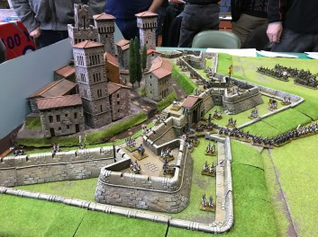 Siege of Girona 1796 (15mm) by Crawley Wargames Club