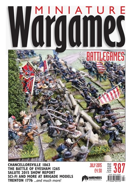 The first issue of Miniature Wargames with Battlegames published by Warners.