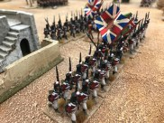 The Battle of Mandra, 1801, in 28mm by Alan and Michael Perry in memory of their friend Adrian Shepherd.