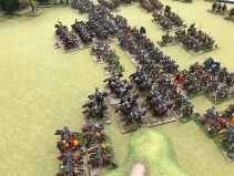 """Grimsby Wargames Society's Great Northern War 28mm game, """"The Lion, the bear and the Winged Hussar"""""""
