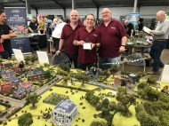 Best Demonstration Game went to Old Pikey's Wargamers.