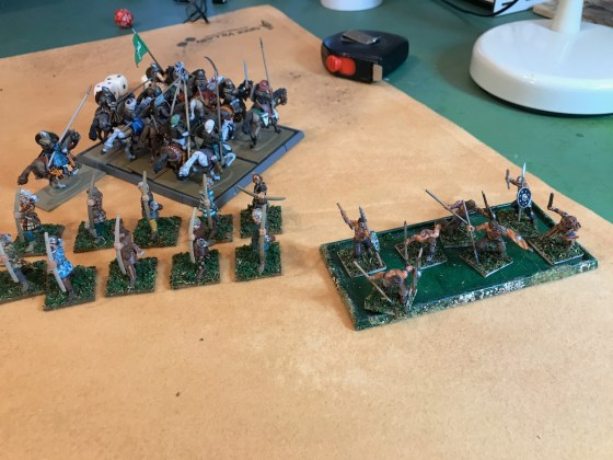 Tartanos cavalry flees