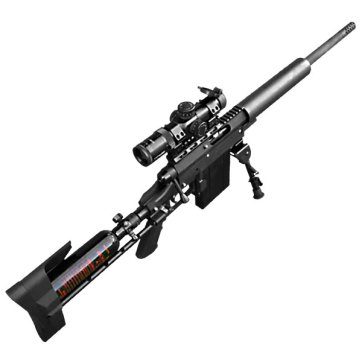 Carmatech SAR12c sniper rifel complete