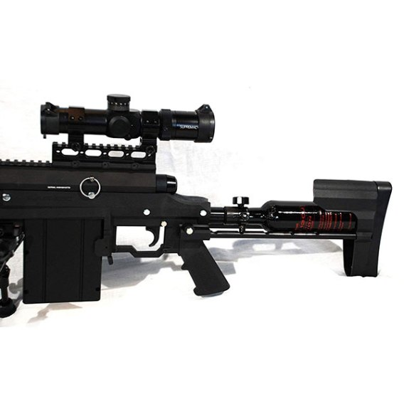 Carmatech SAR12c scope and stock sniper rifel